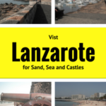 Sea Swimming and Visiting Arrecife Lanzarote