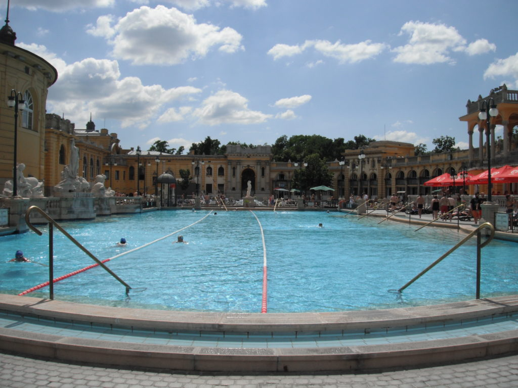 szechenyi thermal bath Spa Budapest