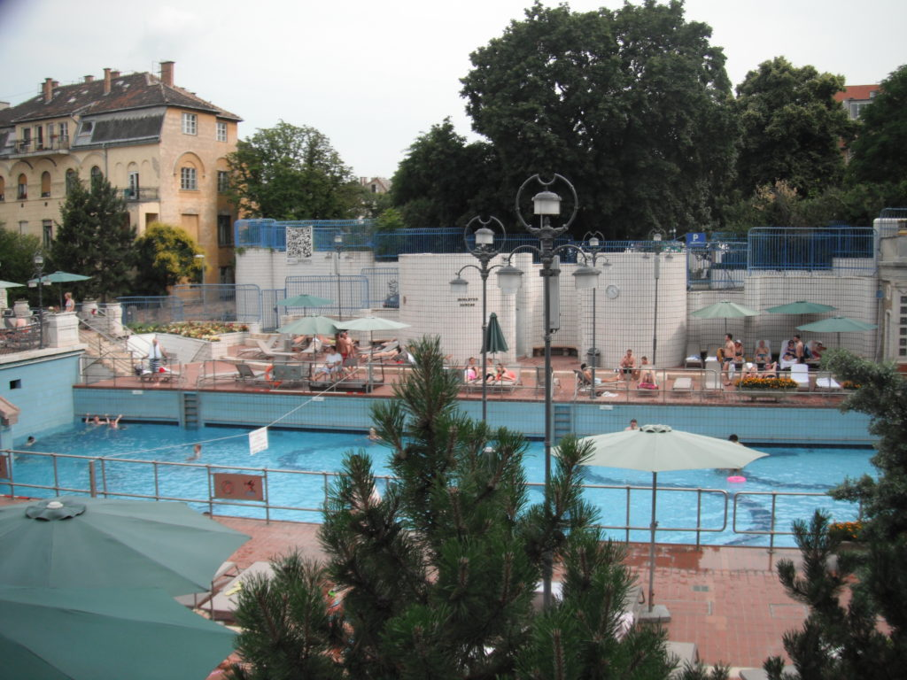 Wave Machine Gellert Spa Budapest