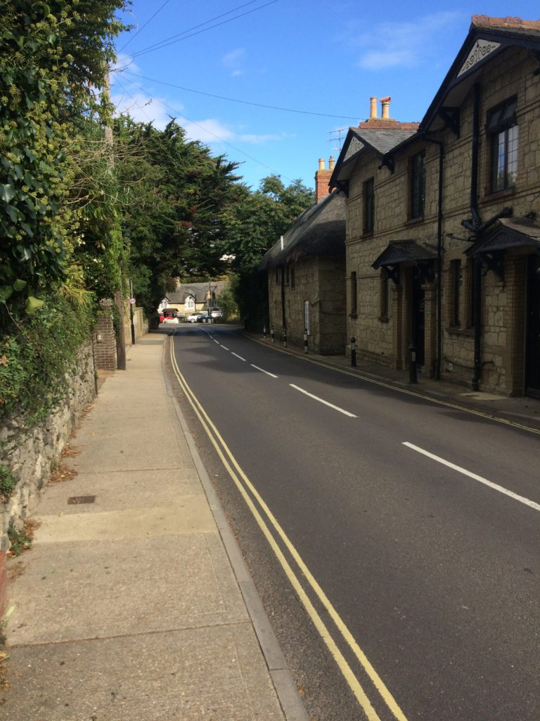 View Back To Shanklin Old Village