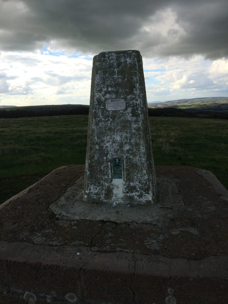 Trig Pillar St Martins Down