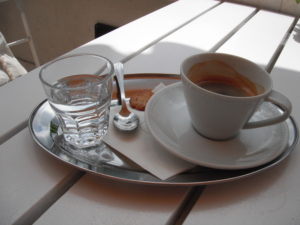 how coffee is served in budapest