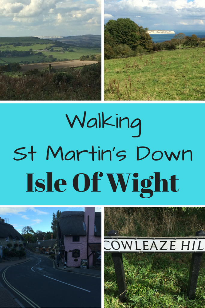 Hiking St Martins Down Isle of Wight