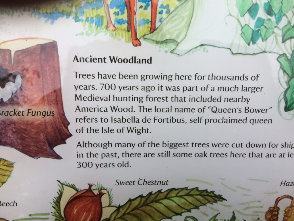 Borthwood Copse Ancient Woodland Information Sign