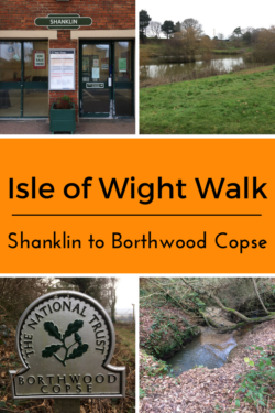 Isle of Wight Walk From Shanklin to Borthwood Copse