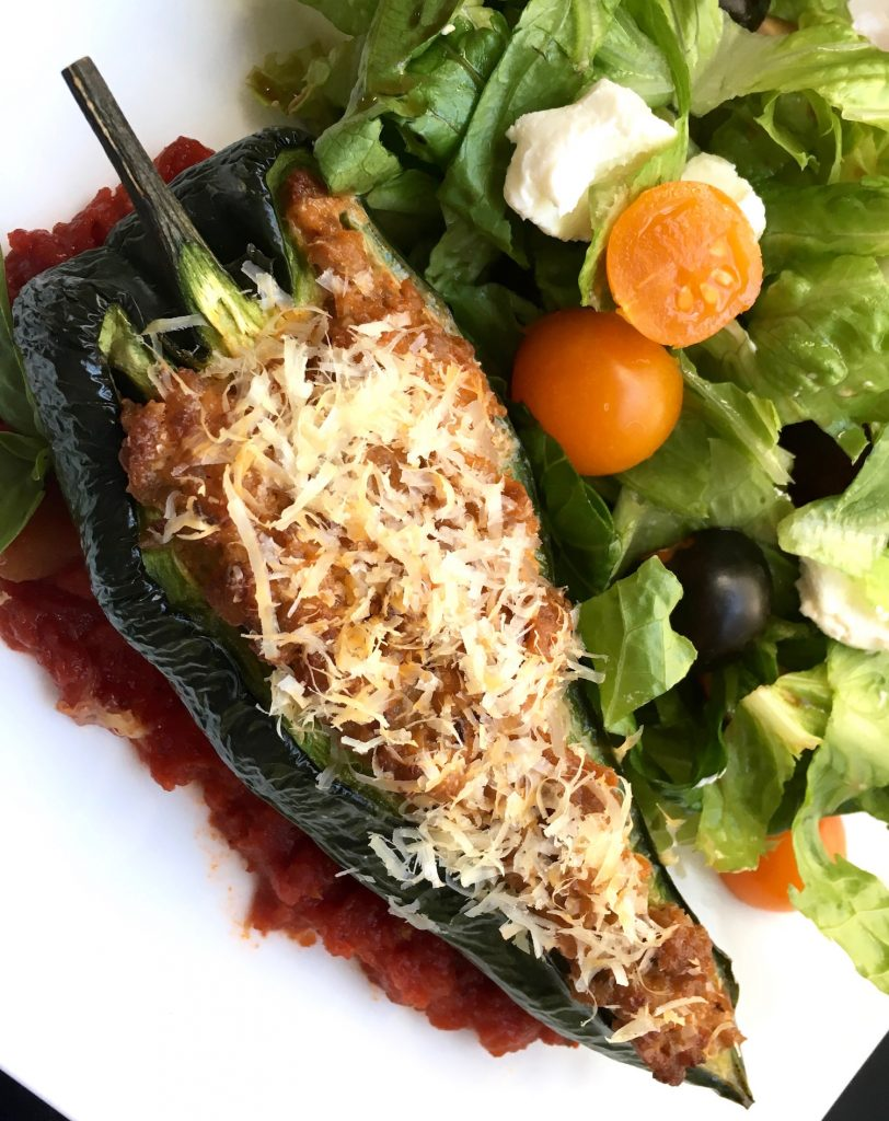 Stuffed Peppers with Chorizo Low Carb Keto Diet Recipe